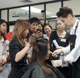บรรยากาศ Prestige Hair Workshop ครั้งที่ 6